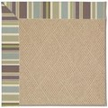 Capel Rugs Creative Concepts Cane Wicker - Brannon Whisper (422) Octagon 12