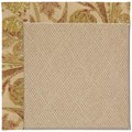 Capel Rugs Creative Concepts Cane Wicker - Cayo Vista Sand (710) Octagon 12