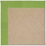 "Capel Rugs Creative Concepts Cane Wicker - Canvas Lawn (227) Runner 2' 6"" x 8' Area Rug"