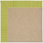 "Capel Rugs Creative Concepts Cane Wicker - Vierra Kiwi (228) Runner 2' 6"" x 8' Area Rug"