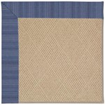 "Capel Rugs Creative Concepts Cane Wicker - Vierra Navy (455) Runner 2' 6"" x 8' Area Rug"