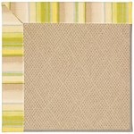 "Capel Rugs Creative Concepts Cane Wicker - Kalani Coconut (615) Runner 2' 6"" x 8' Area Rug"