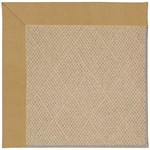 Capel Rugs Creative Concepts Cane Wicker - Canvas Brass (180) Rectangle 3' x 5' Area Rug