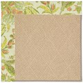 Capel Rugs Creative Concepts Cane Wicker - Cayo Vista Mojito (215) Rectangle 3
