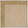 Capel Rugs Creative Concepts Cane Wicker - Tampico Rattan (716) Rectangle 4