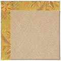 Capel Rugs Creative Concepts Cane Wicker - Cayo Vista Tea Leaf (210) Rectangle 5