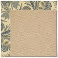 Capel Rugs Creative Concepts Cane Wicker - Cayo Vista Ocean (425) Rectangle 6