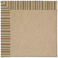 Capel Rugs Creative Concepts Cane Wicker - Dorsett Autumn (714) Rectangle 6