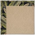 Capel Rugs Creative Concepts Cane Wicker - Bahamian Breeze Coal (325) Rectangle 7