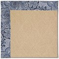 Capel Rugs Creative Concepts Cane Wicker - Paddock Shawl Indigo (475) Rectangle 7