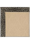 Capel Rugs Creative Concepts Cane Wicker - Wild Thing Onyx (396) Rectangle 8' x 8' Area Rug