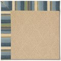 Capel Rugs Creative Concepts Cane Wicker - Kalani Ocean (417) Rectangle 8