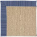 Capel Rugs Creative Concepts Cane Wicker - Vierra Navy (455) Rectangle 8