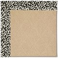 Capel Rugs Creative Concepts Cane Wicker - Coral Cascade Ebony (385) Rectangle 12