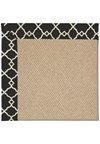 Capel Rugs Creative Concepts Cane Wicker - Arden Black (346) Rectangle 12' x 15' Area Rug