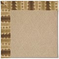 Capel Rugs Creative Concepts Cane Wicker - Java Journey Chestnut (750) Rectangle 12
