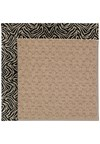 Capel Rugs Creative Concepts Grassy Mountain - Wild Thing Onyx (396) Octagon 4' x 4' Area Rug