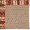 Capel Rugs Creative Concepts Grassy Mountain - Java Journey Henna (580) Octagon 4