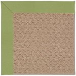 Capel Rugs Creative Concepts Grassy Mountain - Canvas Citron (213) Octagon 6' x 6' Area Rug