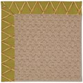 Capel Rugs Creative Concepts Grassy Mountain - Bamboo Tea Leaf (236) Octagon 6