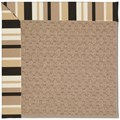 Capel Rugs Creative Concepts Grassy Mountain - Granite Stripe (335) Octagon 6
