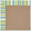 Capel Rugs Creative Concepts Grassy Mountain - Capri Stripe Breeze (430) Octagon 8