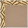 Capel Rugs Creative Concepts Grassy Mountain - Couture King Chestnut (756) Octagon 10