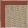 Capel Rugs Creative Concepts Grassy Mountain - Canvas Brick (850) Octagon 10