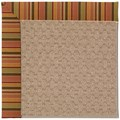 Capel Rugs Creative Concepts Grassy Mountain - Tuscan Stripe Adobe (825) Rectangle 3