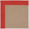 Capel Rugs Creative Concepts Grassy Mountain - Dupione Crimson (575) Rectangle 5