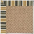 Capel Rugs Creative Concepts Raffia - Long Hill Ebony (340) Octagon 4