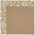 Capel Rugs Creative Concepts Raffia - Shoreham Spray (410) Octagon 4