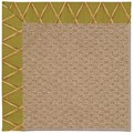 Capel Rugs Creative Concepts Raffia - Bamboo Tea Leaf (236) Octagon 6