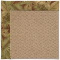 Capel Rugs Creative Concepts Raffia - Bahamian Breeze Cinnamon (875) Octagon 6