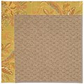 Capel Rugs Creative Concepts Raffia - Cayo Vista Tea Leaf (210) Octagon 10