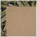 Capel Rugs Creative Concepts Raffia - Bahamian Breeze Coal (325) Octagon 10