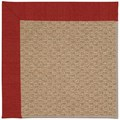 Capel Rugs Creative Concepts Raffia - Canvas Cherry (537) Octagon 10