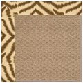 Capel Rugs Creative Concepts Raffia - Couture King Chestnut (756) Octagon 10