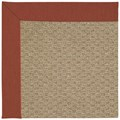 Capel Rugs Creative Concepts Raffia - Canvas Brick (850) Octagon 10