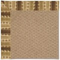 Capel Rugs Creative Concepts Raffia - Java Journey Chestnut (750) Octagon 12
