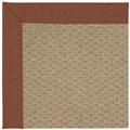 Capel Rugs Creative Concepts Raffia - Linen Chili (845) Runner 2