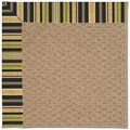 Capel Rugs Creative Concepts Raffia - Vera Cruz Coal (350) Runner 2