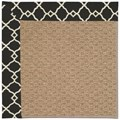 Capel Rugs Creative Concepts Raffia - Arden Black (346) Rectangle 3