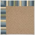 Capel Rugs Creative Concepts Raffia - Kalani Ocean (417) Rectangle 3