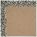 Capel Rugs Creative Concepts Raffia - Coral Cascade Ebony (385) Rectangle 5