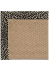 Capel Rugs Creative Concepts Raffia - Wild Thing Onyx (396) Rectangle 5' x 8' Area Rug