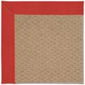 Capel Rugs Creative Concepts Raffia - Dupione Crimson (575) Rectangle 5