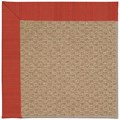 Capel Rugs Creative Concepts Raffia - Vierra Cherry (560) Rectangle 6