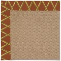 Capel Rugs Creative Concepts Raffia - Bamboo Cinnamon (856) Rectangle 6