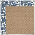 Capel Rugs Creative Concepts Raffia - Batik Indigo (415) Rectangle 8
